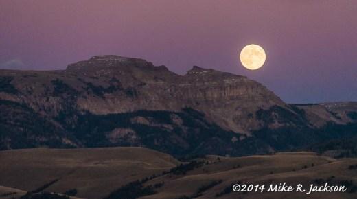 Moon Ridr Over Sleeping Indian