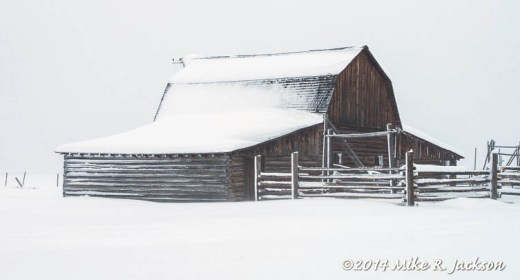 Barn and Corrals