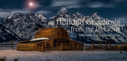 Christmas in the Tetons