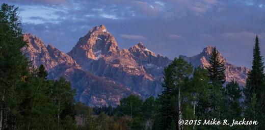 Morning Peaks