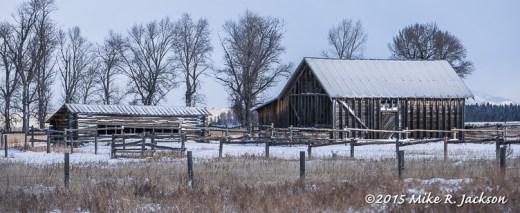 Chambers Homestead Barns