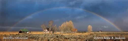 Mormon Row Rainbow: