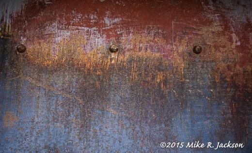 Rusting Steel Panel