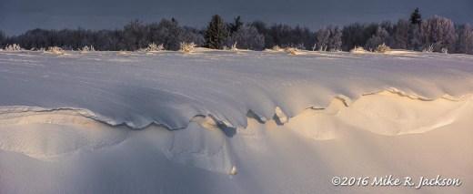 Snow Cornice