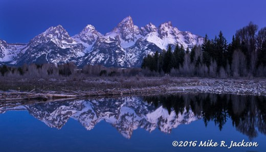 Early, Early Morning at Schwabacher Landing