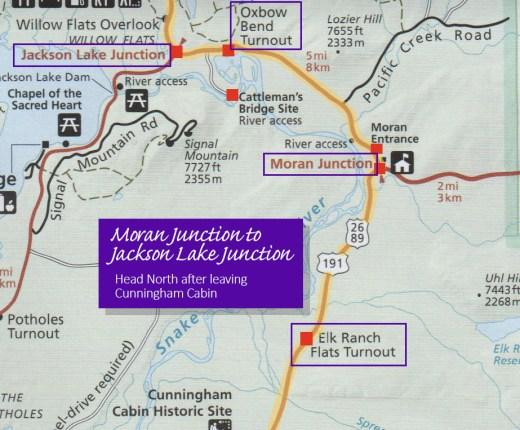 Moran to Jackson Lake Junction