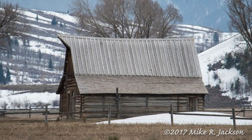 Distant Barn