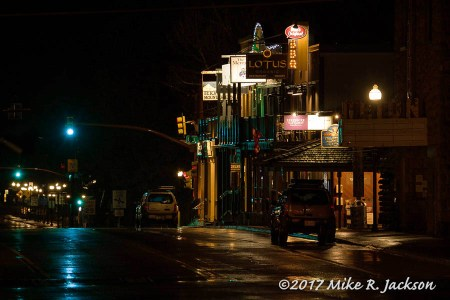 Rainy Night In Jackson Hole