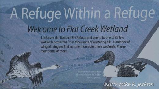 Flat Creek Westlands Sign