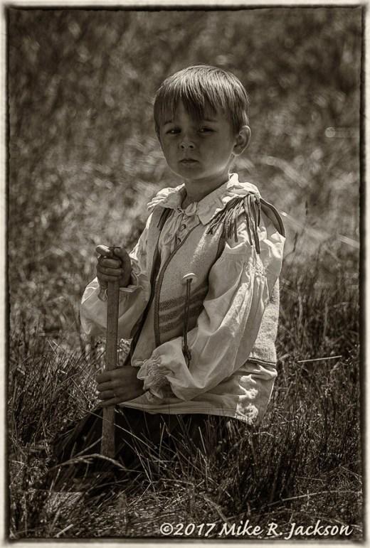 Young Buckskinner