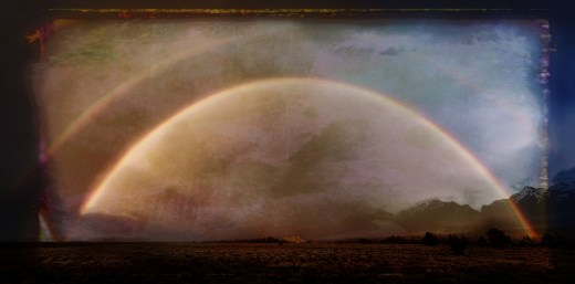 Rainbow with Topaz Studio