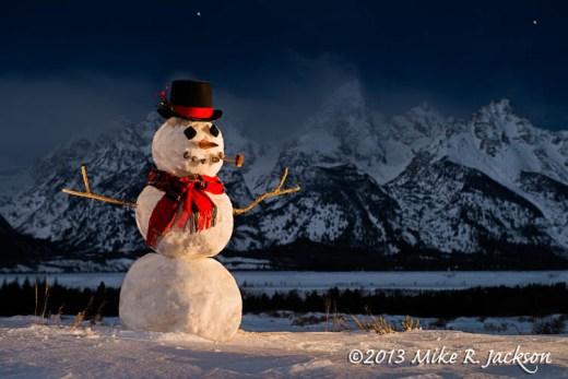 March Snowman