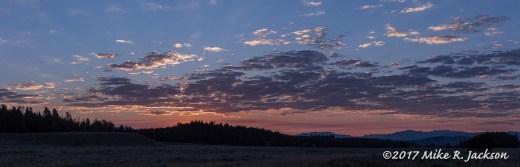 Sunrise Pano
