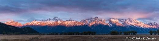 Teton Range Sunrise