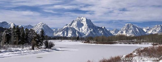 Frozen Oxbow Bend