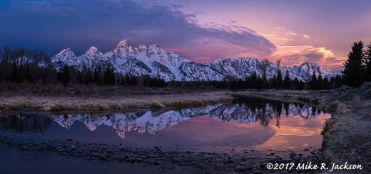 Teton Range Reflections