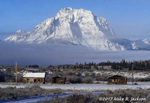 Elk Ranch and Mt. Moran