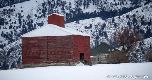 Red Square Barn