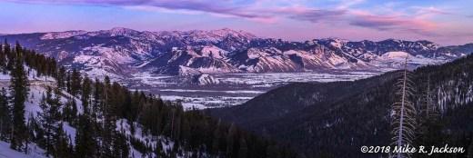 Teton Pass Pano