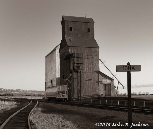 Iona Grain Elevators