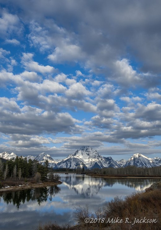 Oxbow Bend and Clouds