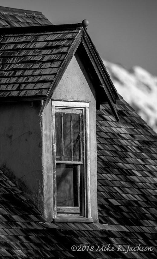 Peach House Window