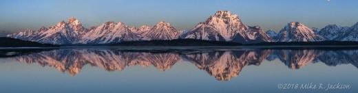 Teton Range Reflectiuons