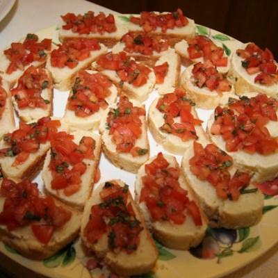 Gluten-Free Bruschetta