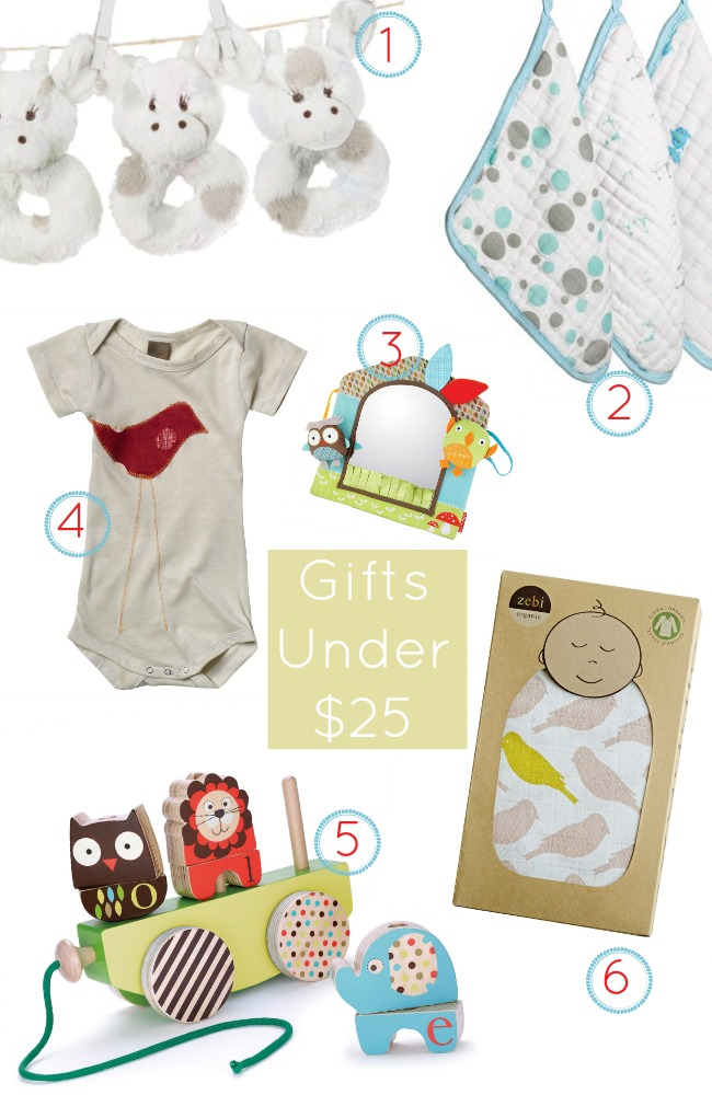 Baby Shower Gifts Under $25 www.bestofthislife.com