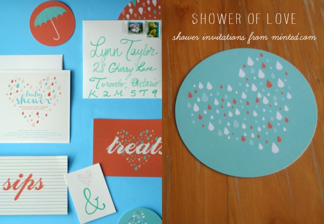 Shower Invitations from Minted www.bestofthislife.com