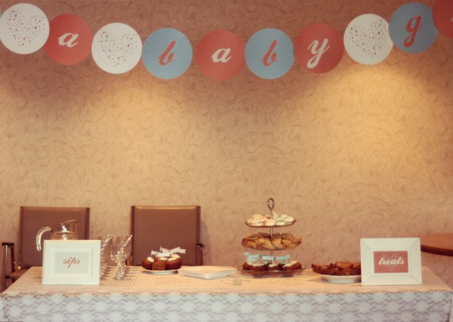 Treat Table Baby Shower www.bestofthislife.com