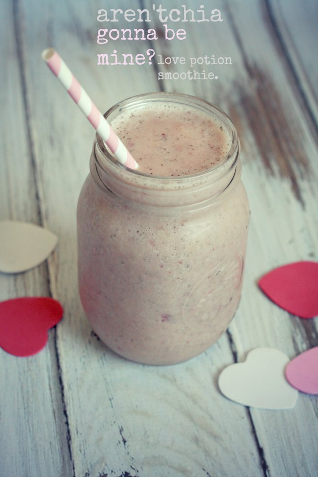 Chia Strawberry Vanilla Smoothie