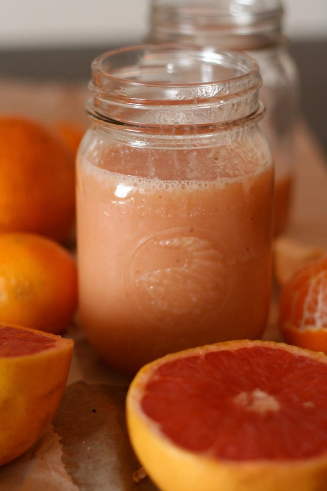 The Best of this Life | Grapefruit Tangerine Smoothie #dairyfree
