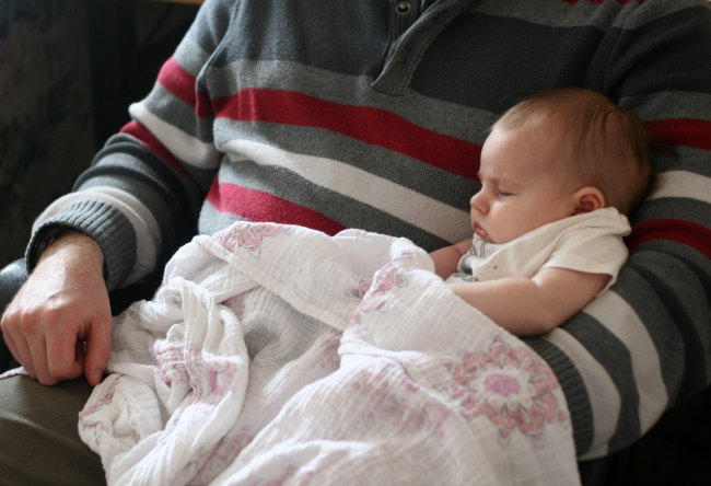 Abby in Daddy's Arms | The Best of this Life #sundayliving