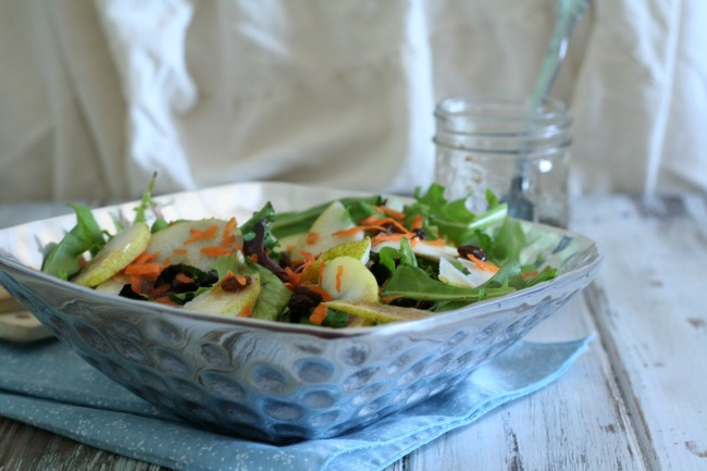 Tangy Pear Salad   The Best of this Life