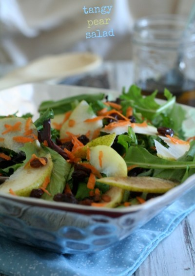 Tangy Pear Salad