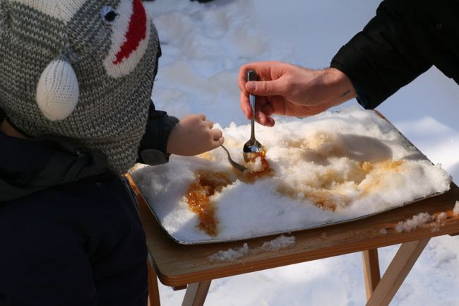 Maple Taffy on Snow | The Best of this Life