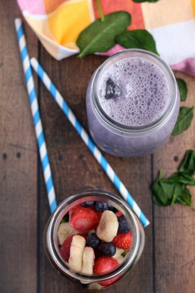 Berry Banana Popeye Smoothie | The Best of this Life