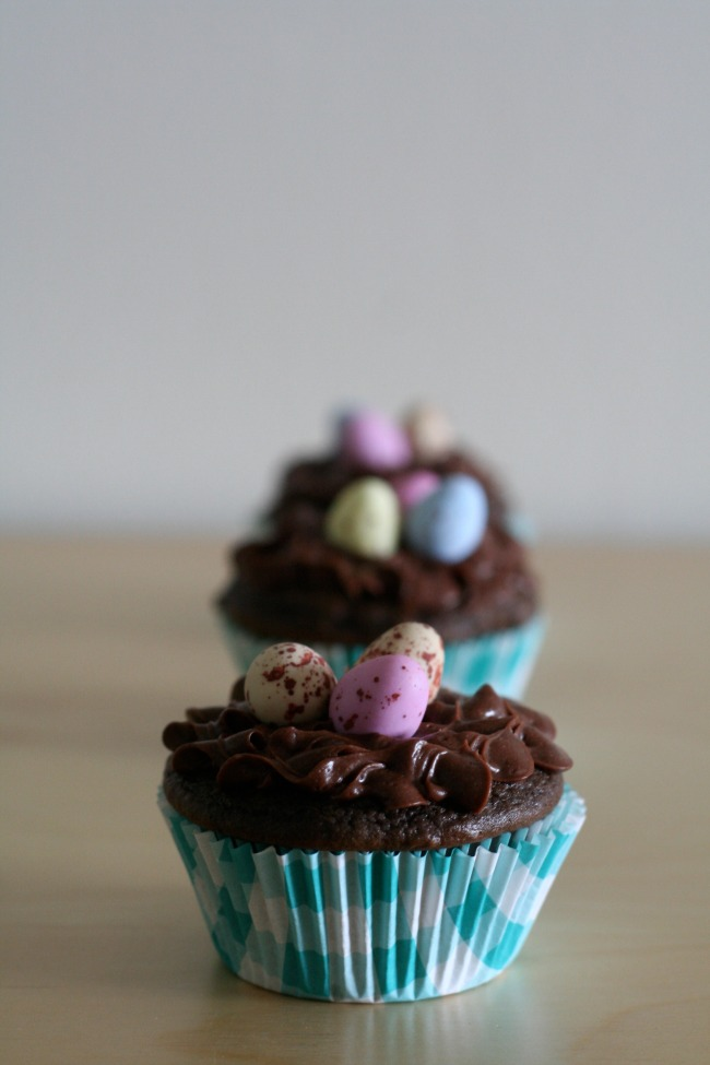 Gluten-Free Chocolate Easter Egg Cupakes | The Best of this Life