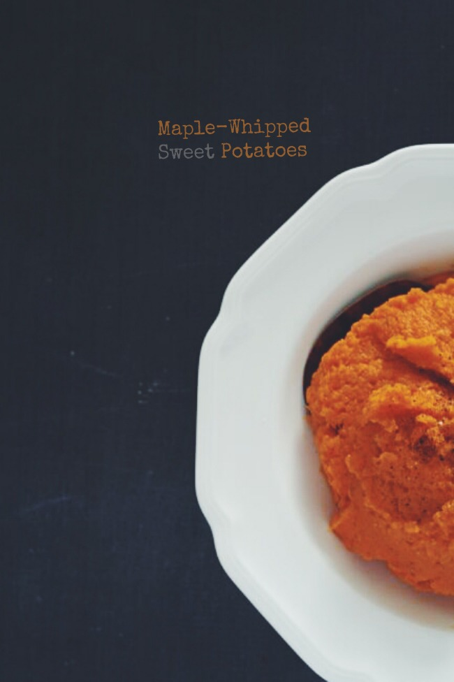 Maple Whipped Sweet Potatoes | The Best of this Life