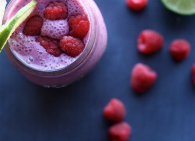 Raspberry Lime Zinger Smoothie   The Best of this Life #dairyfree #vegan