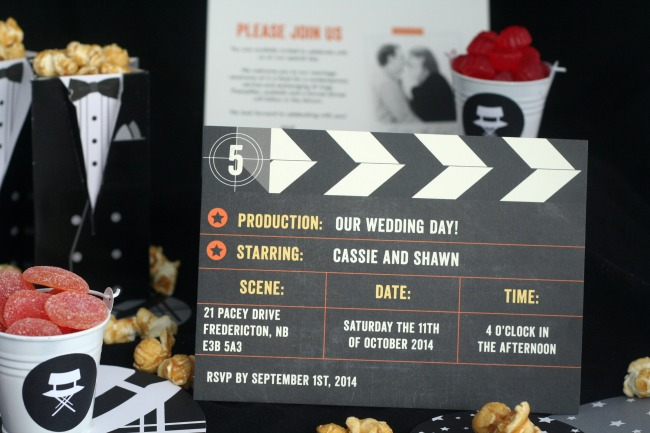 A Movie Themed Wedding With Minted The Best Of This Life