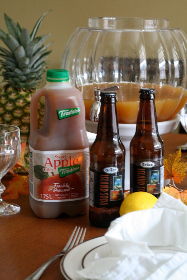 Fall Parties & A Ginger Apple Cider Punch - The Best of ...
