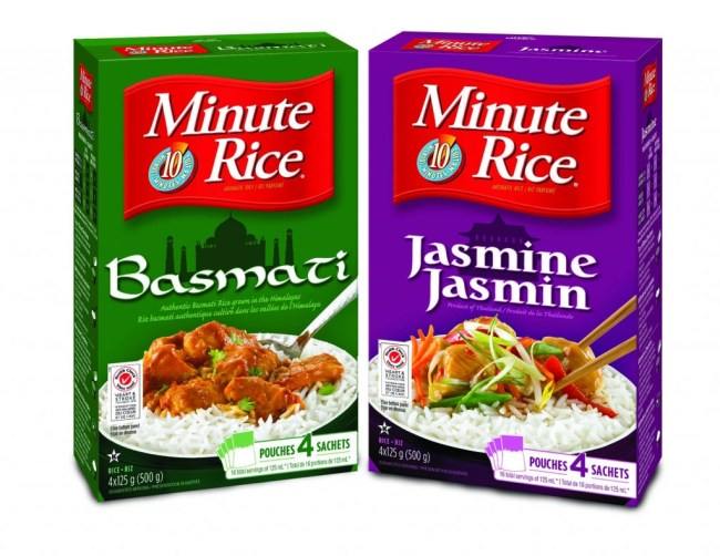 Minute Rice Aromatic Family LR
