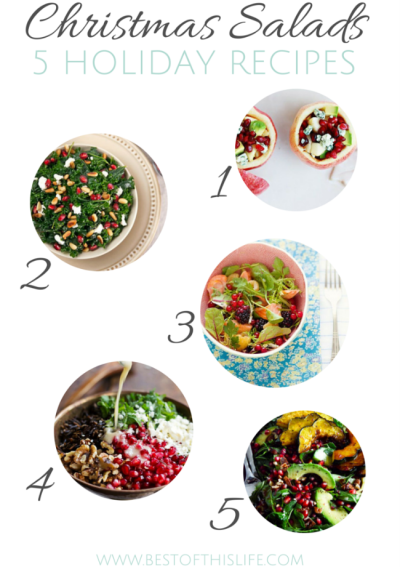 5 Bright Salads for Your Christmas Feast