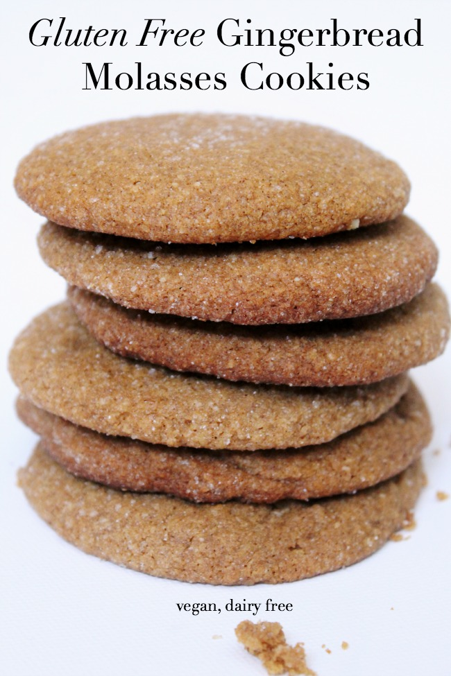 Gluten-Free Gingerbread Molasses Cookies - The Best of this Life