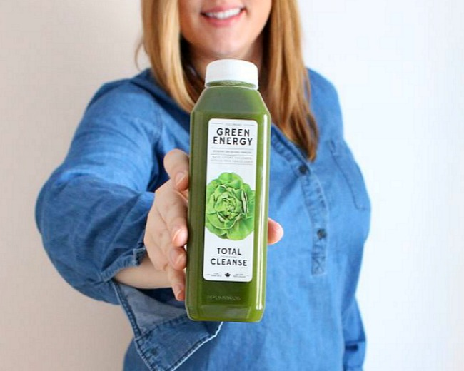 The 3 Day refresh Juice Cleanse Green Energy