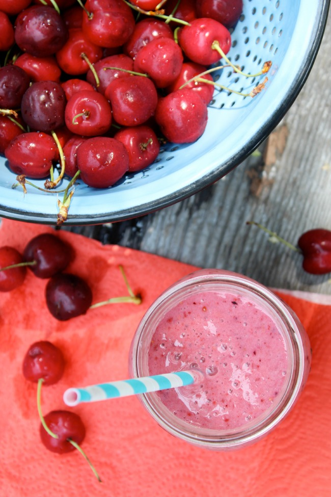 Delicious Cherry Smoothie The Best of this Life Ottawa Blog