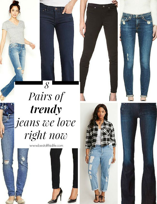 What is denim jeans made of