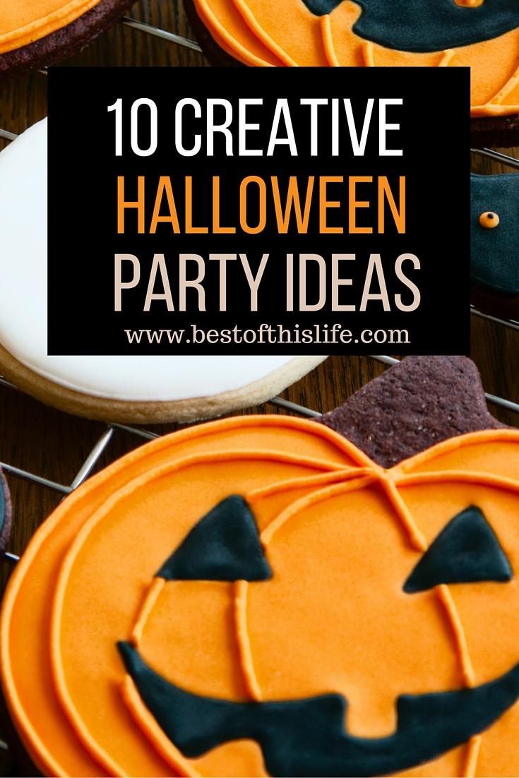 10 Creative Halloween Party Ideas